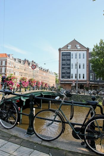 Schnappschüsse aus Amsterdam