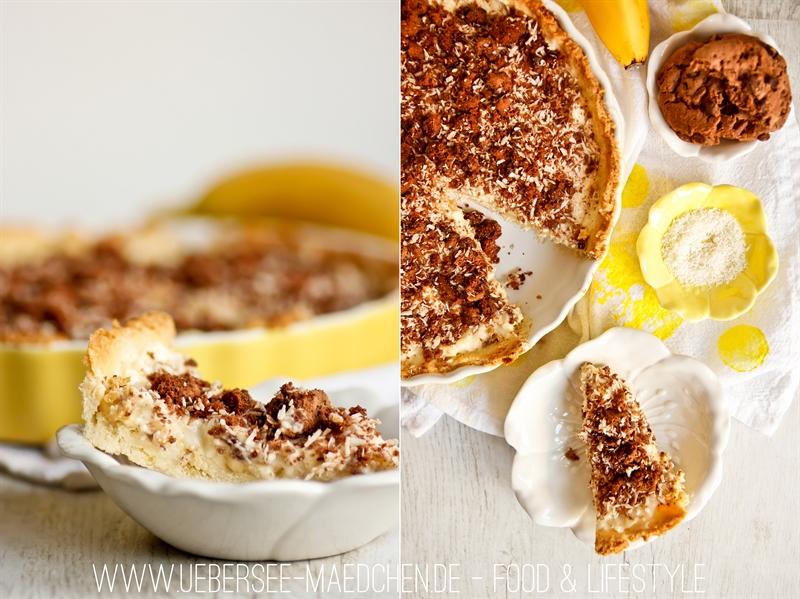 Rezept für Bananen-Kokos-Kuchen