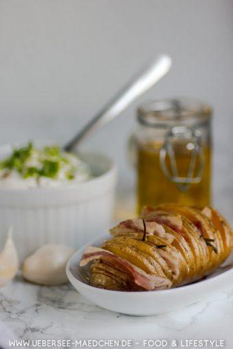 Hasselback-Kartoffeln mit Speck Bacon mal anders Rezept von ÜberSee-Mädchen Foodblog vom Bodensee Konstanz