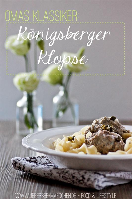 Rezept für Omas Königsberger Klopse