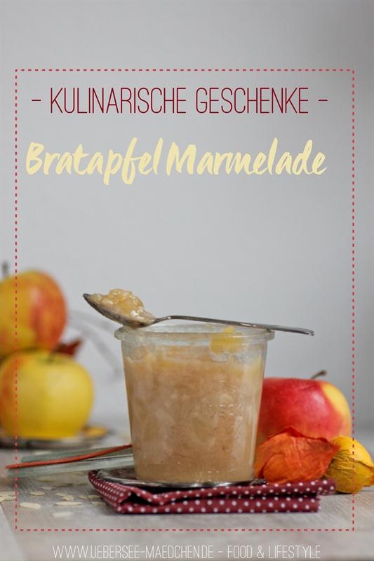 Rezept für Bratapfel-Marmelade als kulinarisches Geschenk