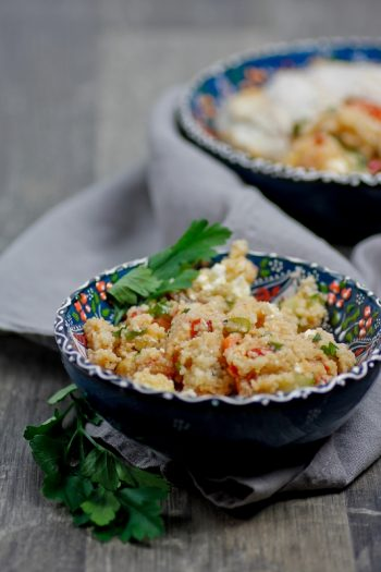 Couscous-Salat perfekt für die Mittagspause