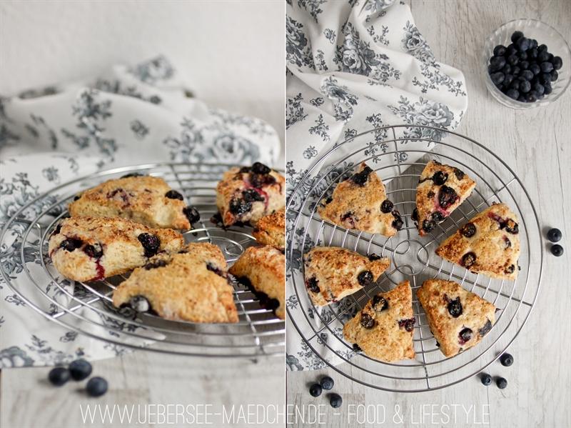 Blaubeer-Scones zum Frühstück