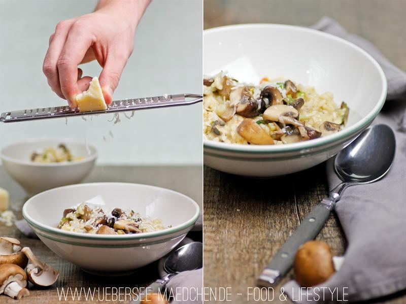 Einfaches Rezept für Pilz-Risotto