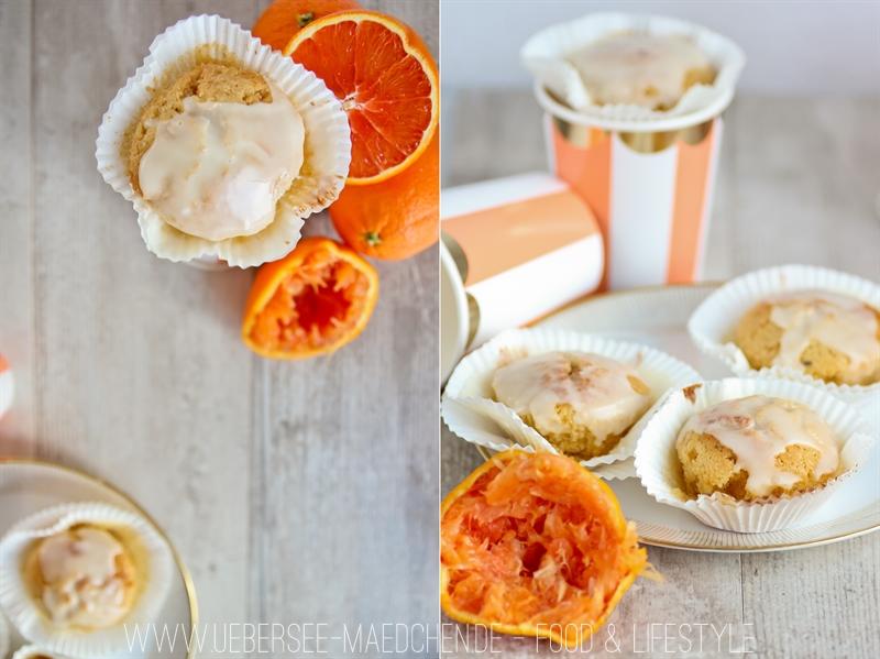 Einfaches Rezept für Blutorangen-Muffins
