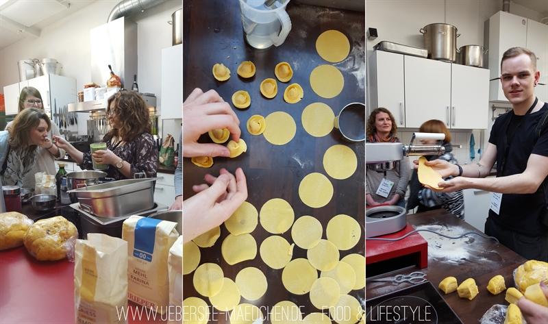 Nudeln selbst machen beim Foodbloggercamp