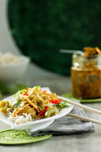 Rezept für Curry mit selbstgemachter Paste