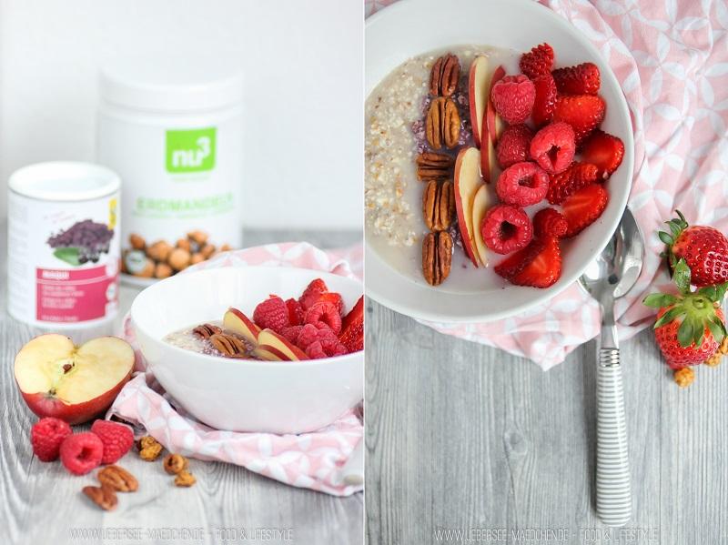 Erdmandel-Porridge für Abwechslung beim Frühstück
