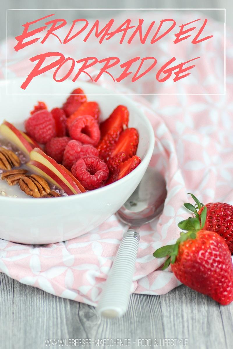 Erdmandel-Porridge zum Frühstück