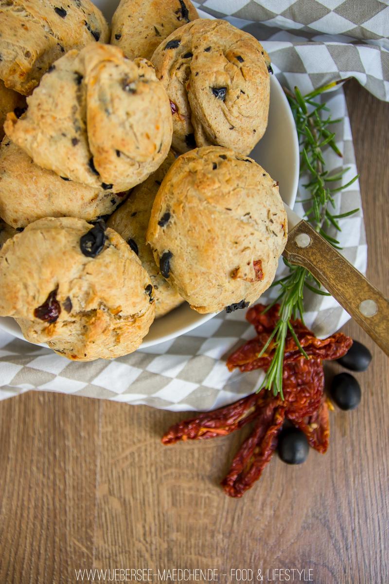 Rezept für mediterrane Brötchen