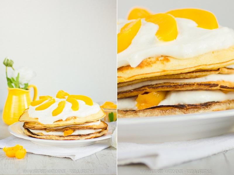 Rezept für Pfannkuchen-Torte zum Muttertag