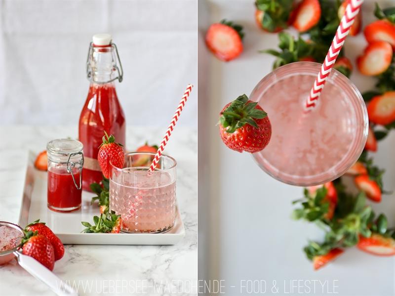 Rezept für Erdbeer-Sirup