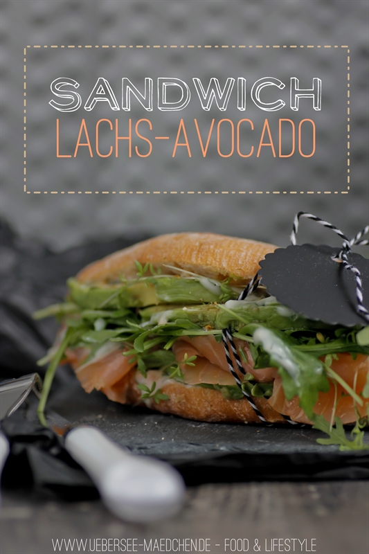 Lachs-Avocado-Sandwich
