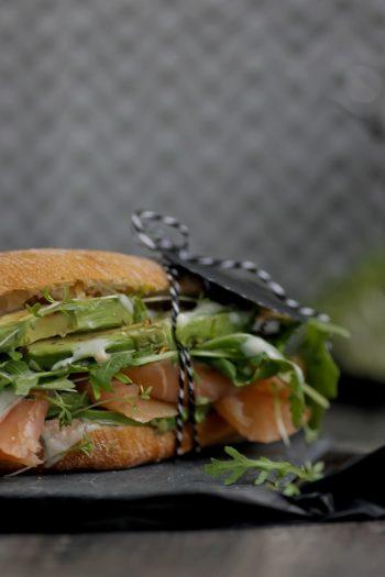 Rezept für geniales Lachs-Avocado-Sandwich wie in Amsterdam