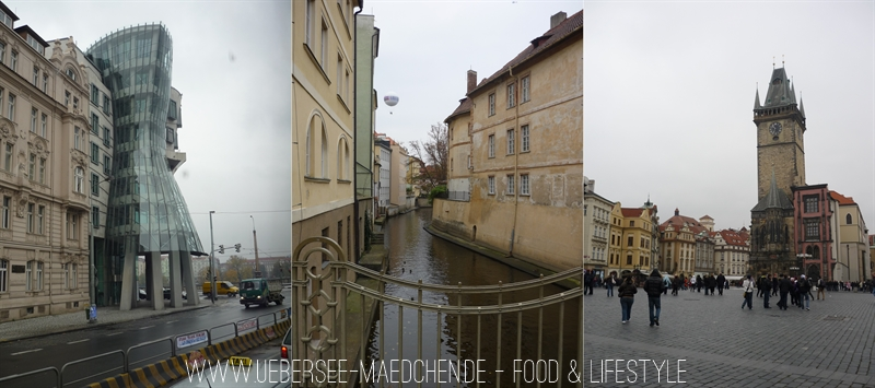 Reisepläne für Prag