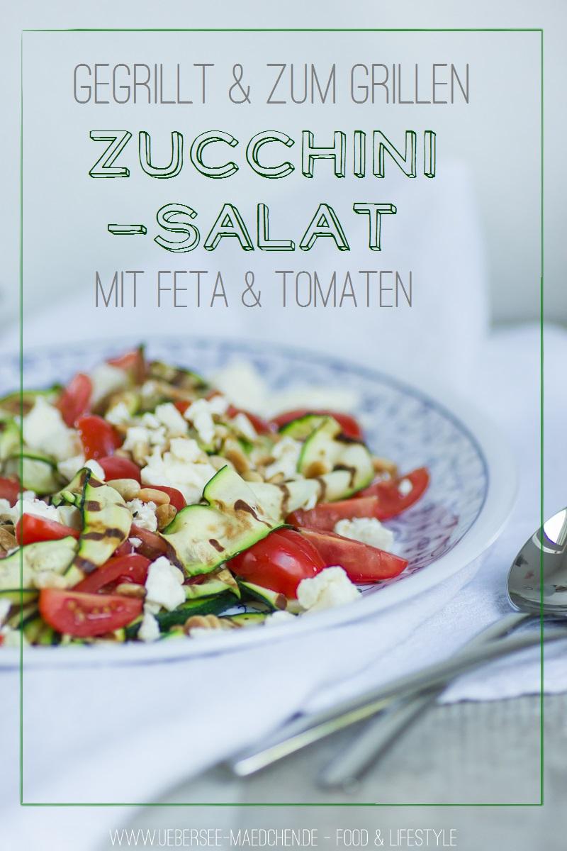 Rezept für Zucchini-Salat zum Grillen