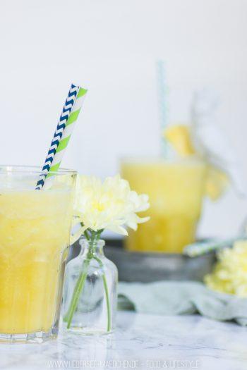 Rezept für Ananas-Kokos-Drink