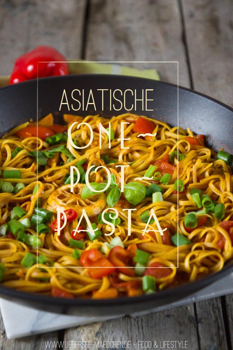Rezept für asiatische One-Pot-Pasta