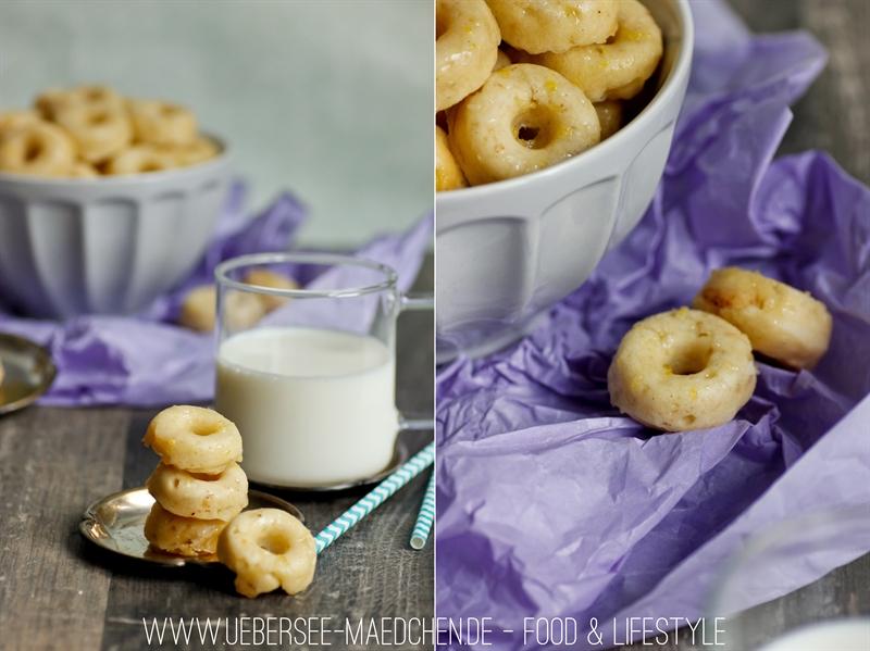 Mini-Donuts mit saurer Sahne ohne Frittieren