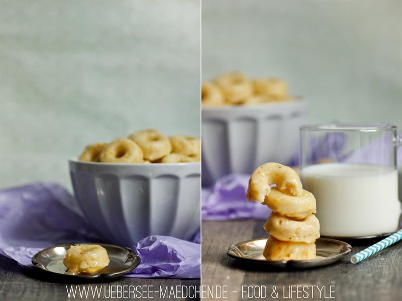 Rezept für Mini-Donuts mit saurer Sahne aus dem Ofen