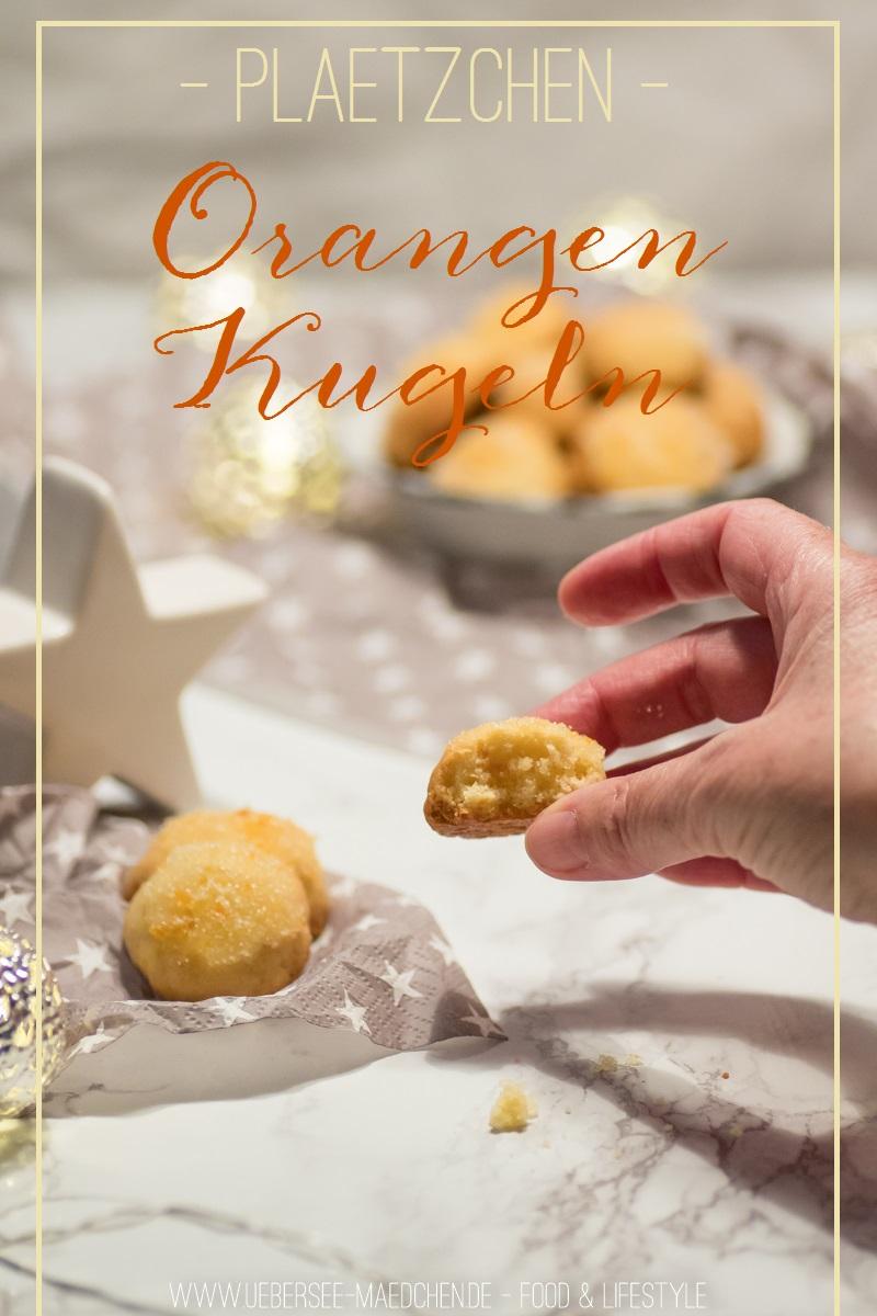 Rezept für Orangen-Kugeln Plätzchen
