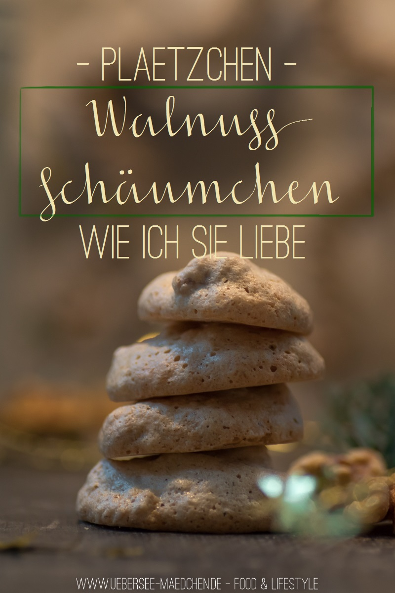 Walnuss-Schäumchen Plätzchen-Rezept