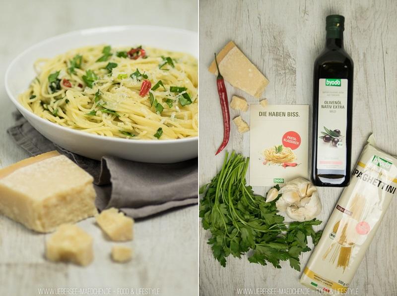 Spaghetti Aglio e Olio einfach gut