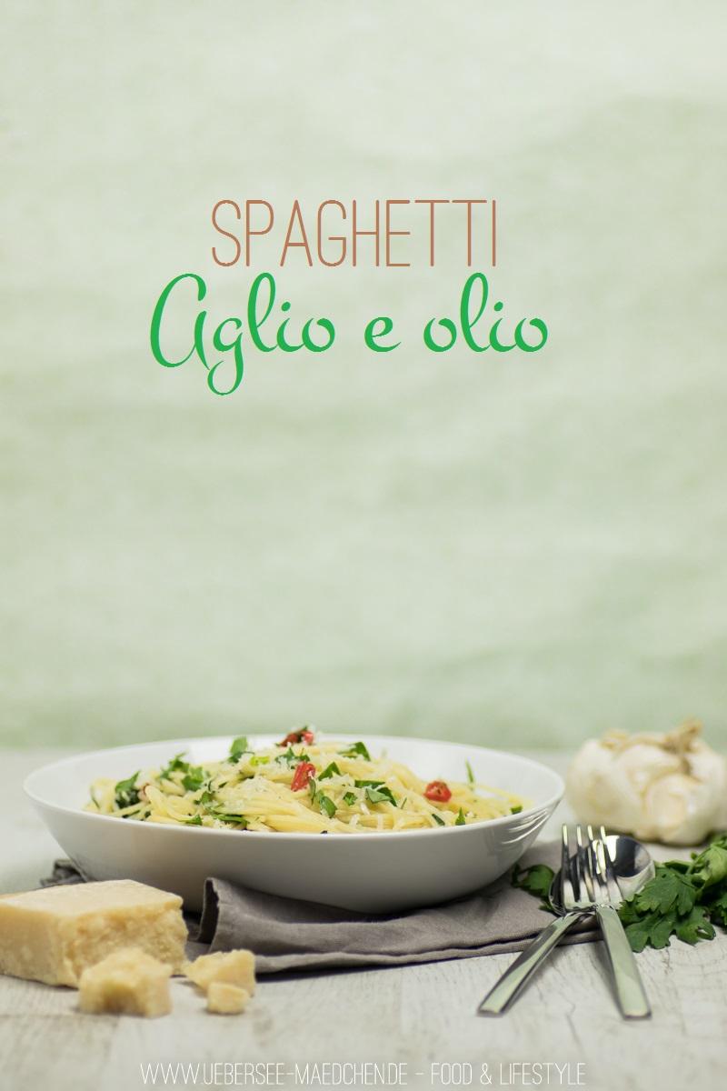 Rezept für Spaghetti Aglio e olio