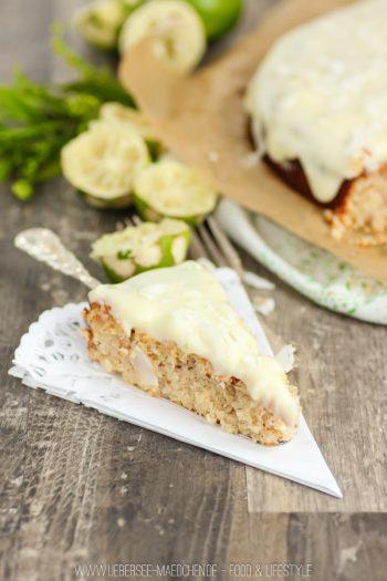 Kokos-Limetten-Kuchen ohne Mehl