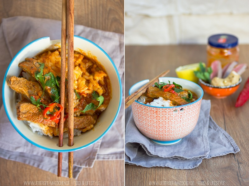 Rezept für Rindfleisch-Curry mit Zimt ohne Gemüse