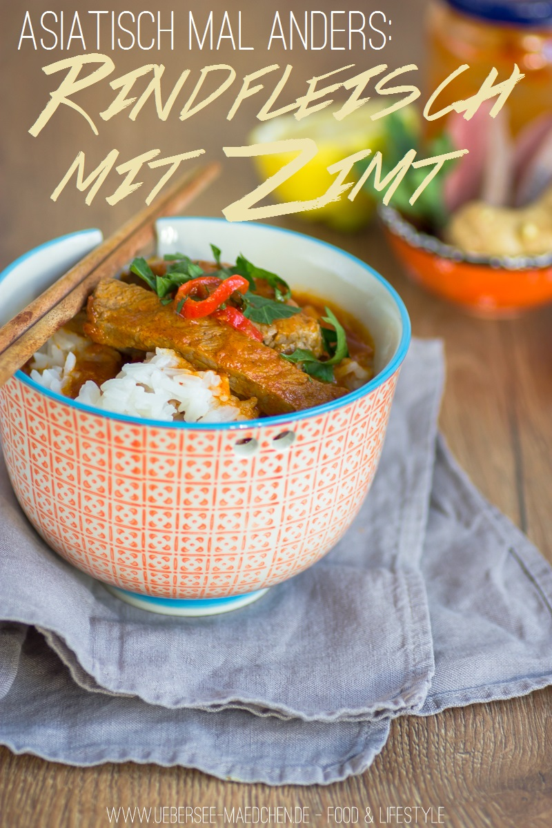 Rindfleisch-Curry mit Zimt