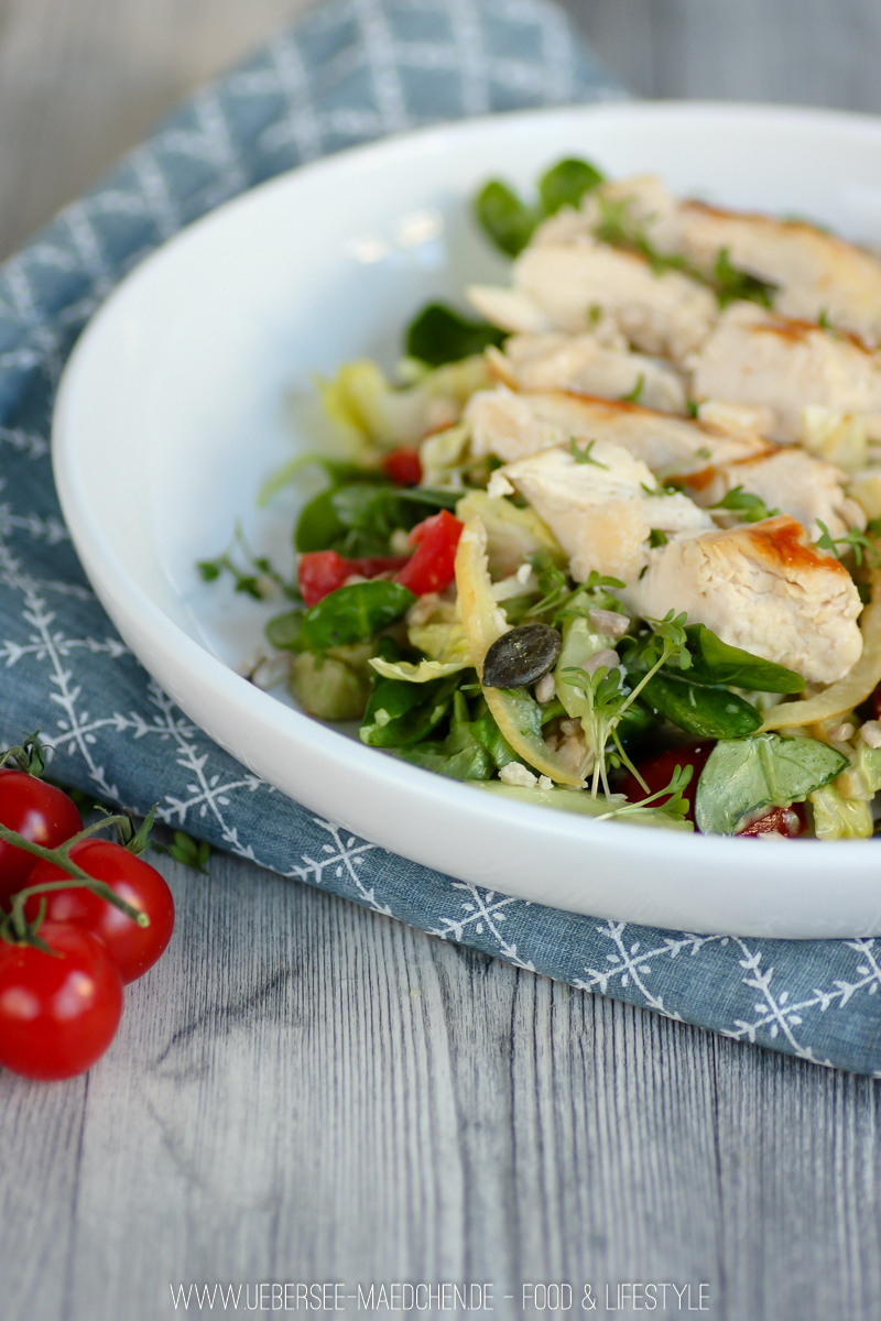 Rezept für Frühlingshafter Salat mit Salzzitronen vom ÜberSee-Mädchen der Foodblog vom Bodensee Überlingen