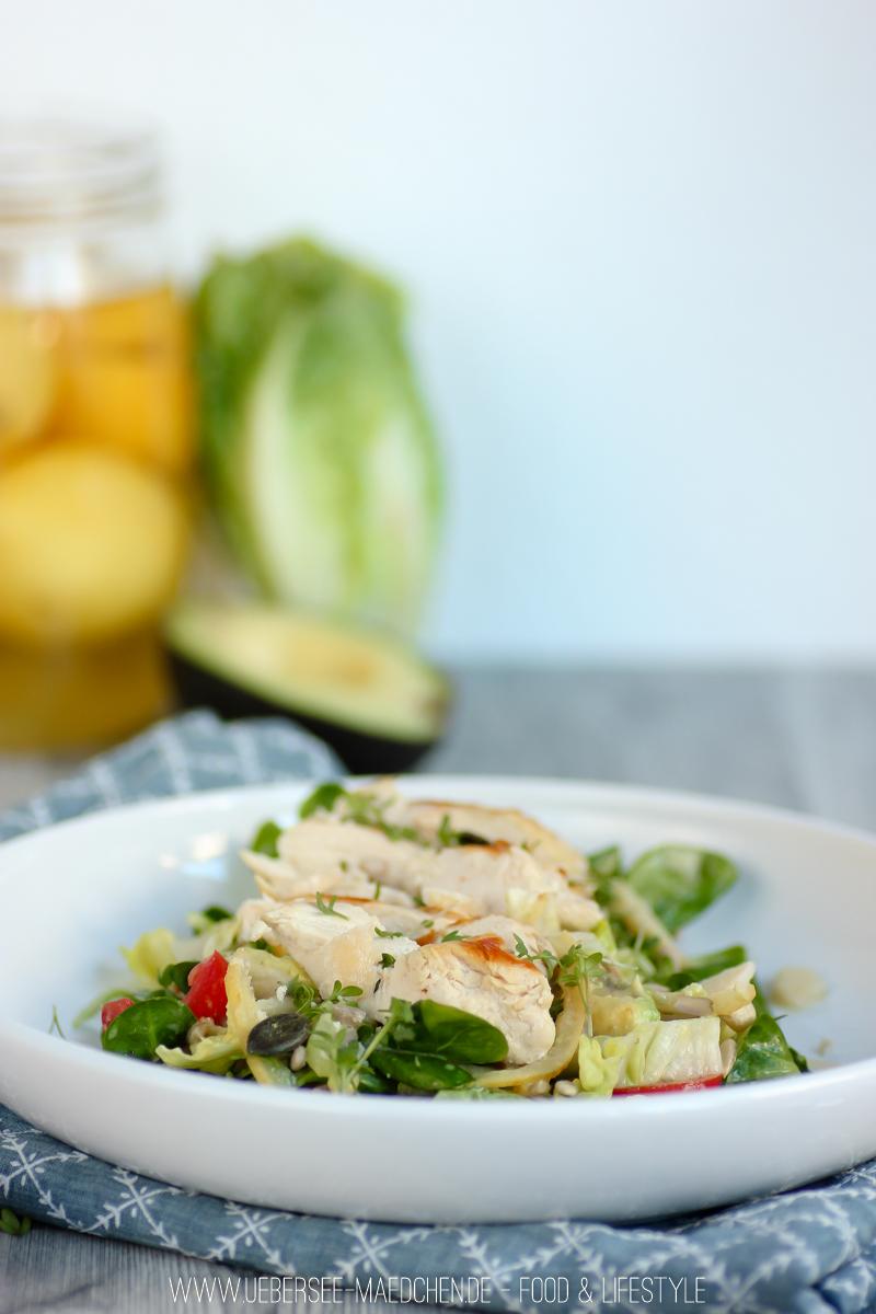 Rezept für Frühlings-Salat mit Salzzitronen vom ÜberSee-Mädchen der Foodblog vom Bodensee Überlingen