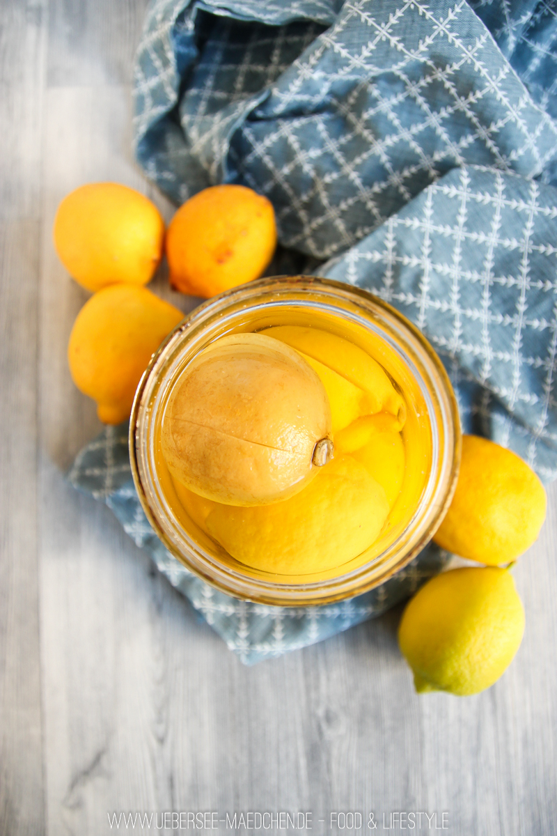 Rezept für Salzzitronen selbst machen ideal für Salat zum Grillen vom ÜberSee-Mädchen der Foodblog vom Bodensee aus Überlingen