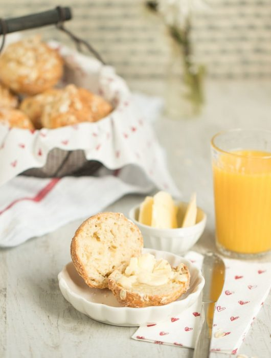 Frühstücksbrötchen Haferflocken-Quark-Brötchen schnelles Rezept zum Frühstück von ÜberSee-Mädchen Foodblog Bodensee Überlingen