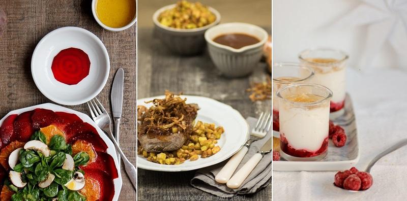 Menü für die Weihnachtsfeiertage Weihnachtsessen Idee Rezepte von ÜberSee-Mädchen Foodblog Bodensee Überlingen