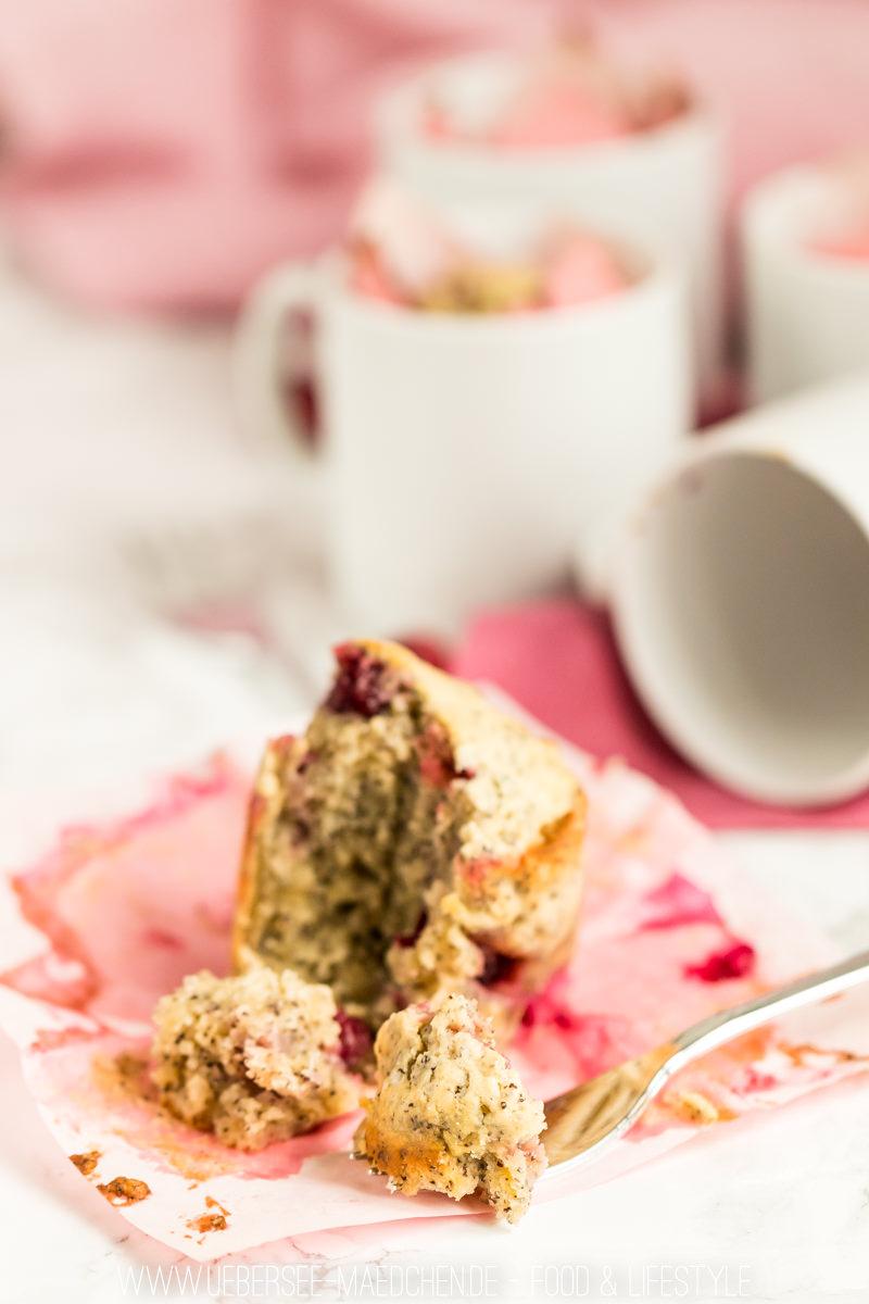 Tassenkuchen aus dem Ofen mit Mohn und Cranberry Rezept von ÜberSee-Mädchen Foodblog Bodensee Überlingen