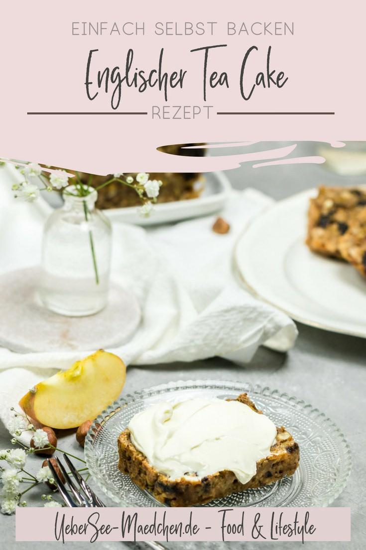 Englischer Tea cake mit Nüssen Trockenpflaumen Äpfeln Rezept von ÜberSee-Mädchen Foodblog Bodensee Überlingen