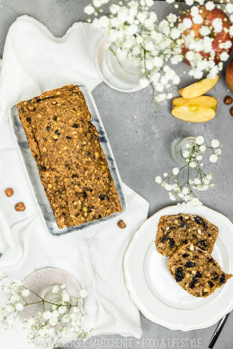 Englischer Teacake mit Nüssen Trockenpflaumen Äpfeln Rezept von ÜberSee-Mädchen Foodblog Bodensee Überlingen