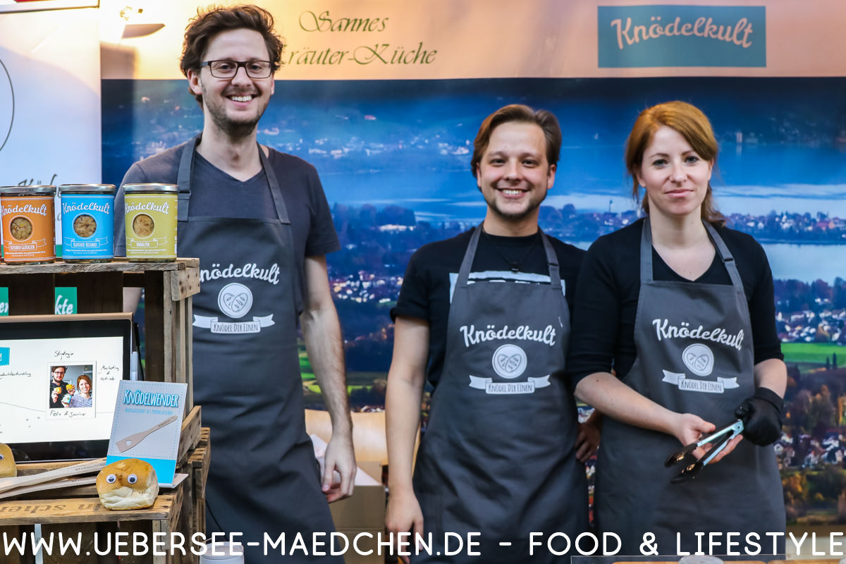 Das Knödelkult-Team auf der Slow-Food-Messe in Stuttgart von ÜberSee-Mädchen Foodblog vom Bodensee Überlingen