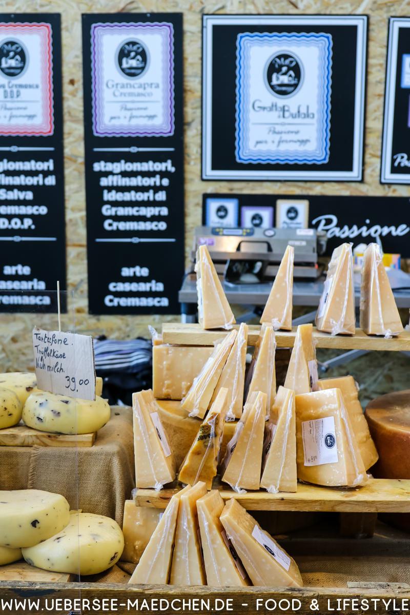 Käse aus Italien bei der Slowfood Stuttgart von ÜberSee-Mädchen Foodblog vom Bodensee Überlingen