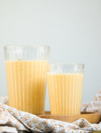 Mango-Lassi einfach selbst machen lecker mit Kardamom von ÜberSee-Mädchen Foodblog vom Bodensee Überlingen