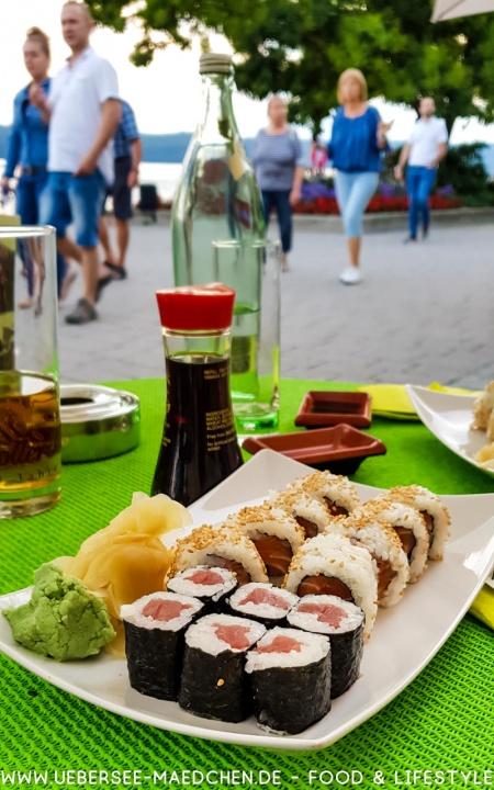 Sushi im Zeughaus Überlingen-Guide von einer Einheimischen mit Tipps Restaurants Sehenswürdigkeiten von ÜberSee-Mädchen Foodblog vom Bodensee