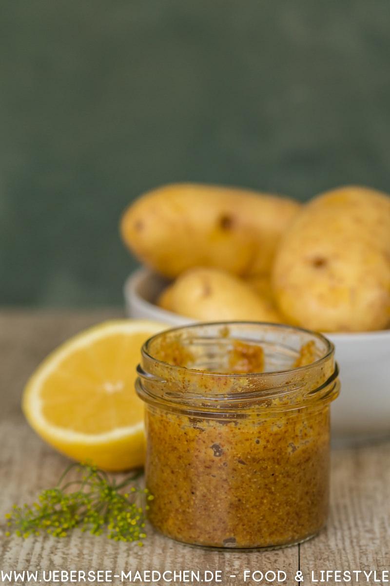 Kartoffelsalat mit Senfcreme süßer Senf Schmand Dill Gurken Rezept von ÜberSee-Mädchen Foodblog vom Bodensee Überlingen