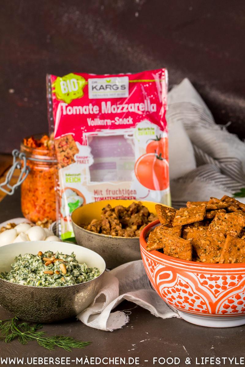 Sommer Snack Aufstriche mit Keksen Dr. Karg's Rezept von ÜberSee-Mädchen Foodblog vom Bodensee Überlingen