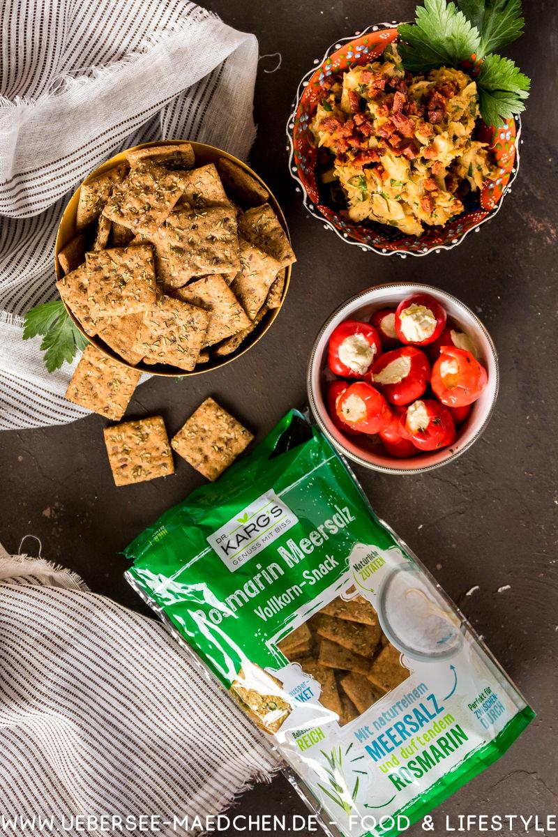 Sommer Snack Aufstrich mit Keksen Dr. Karg's Rezept von ÜberSee-Mädchen Foodblog vom Bodensee Überlingen