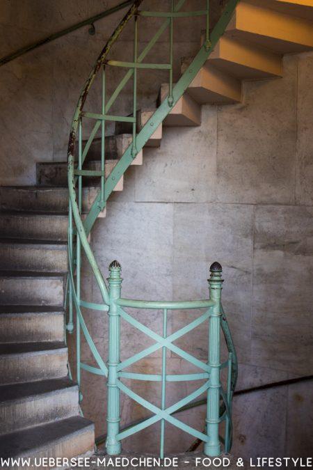Treppe zur Siegessäule Berlin Eindrücke von ÜberSee-Mädchen Foodblog vom Bodensee Überlingen