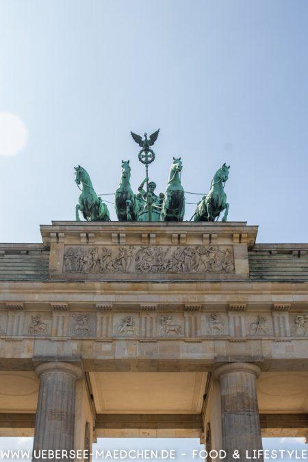 Berlin Brandenburger Tor Eindrücke von ÜberSee-Mädchen Foodblog vom Bodensee Überlingen