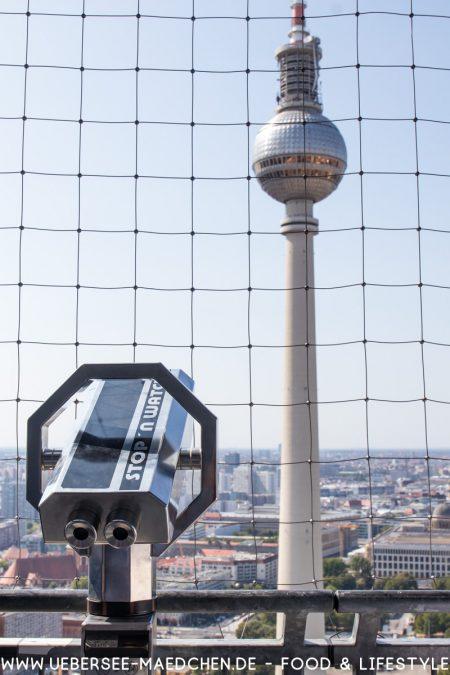 Ausblick auf Berlin Fernsehturm von ÜberSee-Mädchen Foodblog vom Bodensee