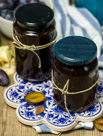 Zwetschgenmus ganz einfach aus dem Ofen Rezept von ÜberSee-Mädchen Foodblog vom Bodensee Überlingen